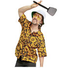 FEAR and LOATHING in LAS VEGAS Raoul Duke Hat Sunglasses Shirt Fly Swatter Prop