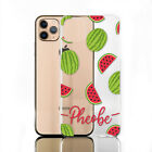 Personalised Initial Phone Case, Flower Print on Clear Hard Cover For Google