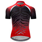Mens Cycling Jersey Outdoor Sports Man Short Sleeve Bike Shirts Biking Jerseys