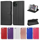 Case for iPhone 6 7 8 5S 6 PLUS XR XS MAX Cover Real Genuine Leather Flip Wallet