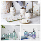 Kyпить Bathroom Accessory/Accessories Set 4PC Glass Dispenser Toothbrush Holder Dish на еВаy.соm