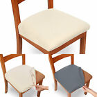 2/4Pcs Chair Seat Covers Removable Elastic Stretch Slipcovers Spandex Dining US