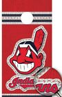 Cleveland Indians Cornhole Wrap Decal MLB Sticker Surface Texture Single M2232 on Ebay