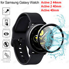 Full Coverage Soft Fiber Glass Samsung Galaxy Watch Active 2 Screen Protector