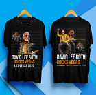 David Lee Roth 2020 Tour Shirt Concert Merch Black T-shirt S-3XL image