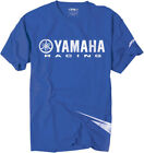 Factory Effex Licensed Yamaha Racing Strobe T-Shirt Blue Mens All Sizes image