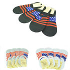 3-12 Pairs Men Invisible No Show Nonslip Loafer Low Cut Solid Cotton Boat Socks