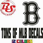 "6"" MLB Major League Baseball Vinyl Decal Sticker Yankess Red Sox NY Phils noBS on Ebay"