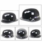 New DOT Motorcycle German Style Half Face Helmet Motocross Chopper Cruiser Biker