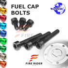 FRW 7Color Fuel Cap Bolts Set For Triumph Speed Triple 1050 05-10 06 07 08 09 10 $11.88 USD on eBay