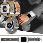 Genuine Leather iWatch Band Wrist Strap For Apple Watch 38/42/40/44mm Wristband image