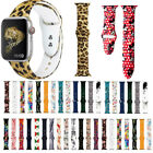 Leopard Mickey Silicone Wrist Strap iWatch Band For Apple Watch Series 5 4 3 2 1 image