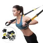 Home Gym Suspension Trainer Resistance Strength Training Straps Workout Indoor image