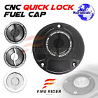 Silver Quick Lock Fuel Cap 1 pc For Ducati 916 All Year 94 95 96 97 98