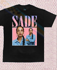 Vintage SADE ADU Merch Tour Concert T-Shirt Black Men All Size S-3XL image