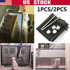 Baby & Pet Safety Gate Retractable Dog Barrier Folding Home Doorway Stair Guard