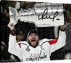 Canvas Wall Art: Washington Capitals - Alex Ovechkin The Stanley Cup Autograph P $99.99 USD on eBay