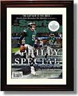 Framed Nick Foles - Philadelphia Eagles Philly Special Championship SI Autograph $15.99 USD on eBay