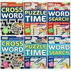 A4 Puzzle Book Child & Adult Activity Home School Wordsearch Sudoku Crossword