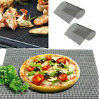 BBQ Grill Mesh Non-Stick Mat Reusable Sheet Resistant Cook Baking Barbecue UK