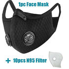 FixedPricecotton mouth muffle reusable anti haze fog respirator w/purifying carbon filters