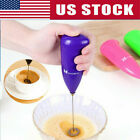 Hand-held Beater Electric Milk Coffee Frother Mixer Beater Kitchen Foamer Tool