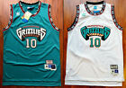 Rookie Mike Bibby 10 Vancouver Grizzlies 98 99 Throwback Jersey