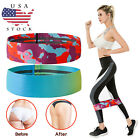 Women Resistance Bands Loop Yoga Workout Fitness Crossfit Booty Leg Exercise Gym image