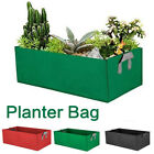 Fabric Raised Garden Bed Grow Bags Flower Vegetable Planter Pot Pocket Pouch c