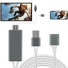 For LG K51/V60 ThinQ 1080P HDMI Cable Phone to TV Converter HDTV Adapter For IOS