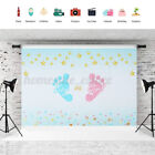 Boy or Girl Gender Reveal Photography Photo Backdrop Studio Prop Background *