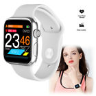 Full Touch Screen Women Men Smart Watch Heart Rate Fitness Tracker for Android Featured fitness full heart men rate screen smart touch watch women