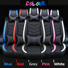 Universal Luxury 5 Seats Car SUV Seat Front Rear Covers Cushion Mat Pillow Kit $86.99 USD on eBay