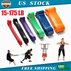 Heavy Duty Exercise Resistance Loop Set Bands Set Fitness Home Yoga Gym Pull Up image