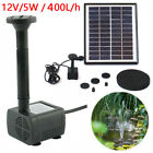 Water Fountain Pump - Outdoor Fish Pond Garden Water Features Submersible Pump