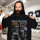 Dream Theater 35 Year Of 1985-2020 All Signed Gifts Fan Music Band T-Shirt S-5XL image