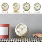 Analog Alarm Clock Kids Bedside Clock Table Alarm Clock with Night Light