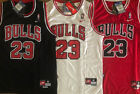 Kyпить Mens/Youth Michael Jordan 23 Throwback Chicago Bulls Black/White/Red Sewn Jersey на еВаy.соm