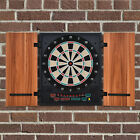 Electronic Dartboard 27 Games&202 Variations w/ 2 Dart and Cabinet to Stroage