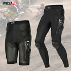 New Motorcycle Armor Pants Mens Motocross Hip Knee Leg Protective Gear Trousers