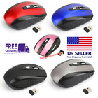 2 4ghz wireless 2000dpi cordless optical mouse mice usb receiver for pc laptop