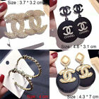 Fashion lady Jewelry Stainless Steel Crystal Classic Stud Earring