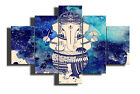 Abstract Ganesha Religious 5 PCs Canvas Print Wall Poster Picture Home Decor