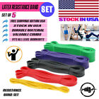 Resistance Band Power Set 5 Assist Loop for Gym Exercise Pull up Fitness Workout image