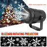 Christmas Snow LED Moving Laser Projector Lamp Light Snowflake Indoor Xmas Party