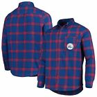 Philadelphia 76ers Concepts Sport Homestretch Flannel Long Sleeve Button-Down on eBay