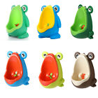 Kids Wall Mounted Hook Frog Potty Toilet Training Rack Vertical Urinal Trainer image
