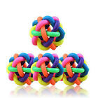 Dog Rope Chew Toys Pet Puppy Tough Strong Knot Ball Rubber Teething Playing Toy