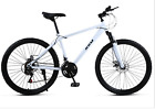 """30er 24"""" 3D Bike Complete Mountain Bicycle Wheels Fork Hardtail MTB 30 Speed New"""