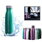 Water Bottle Stainless Steel Double Wall Vacuum Insulated Sports Gym Metal Flask
